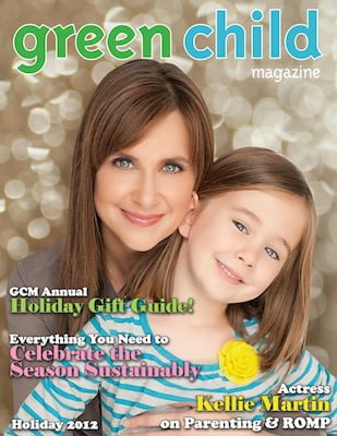 Holiday 2012 Issue of Green Child Magazine