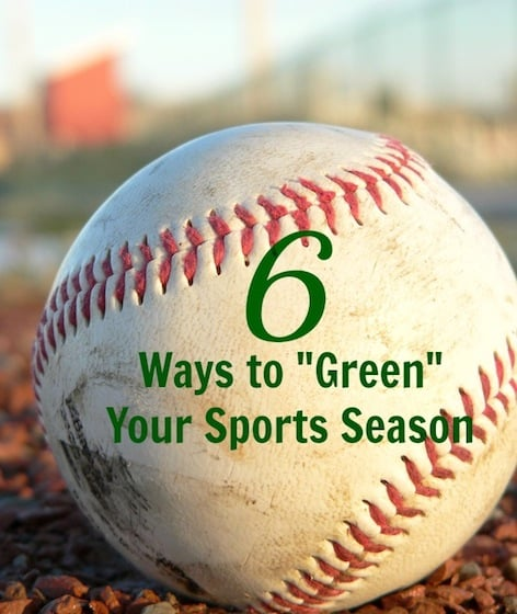 6 Ways to Green Your Sports Season