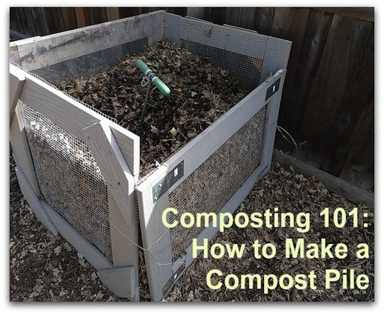 How To Build Compost Pile Mycoffeepot Org
