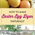 Eco Easter DIY Natural Easter Egg Dyes