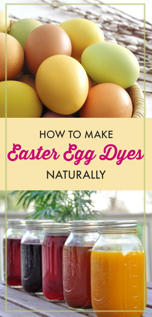 Even if you don't eat the eggs you color for Easter, conventional dyes have chemicals that can get on kids' hands (and all over the kitchen) during the process.  So, why mess with the fake stuff when Mother Nature makes beautiful colors all her own?