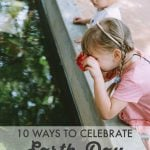 10 Ideas for Celebrating Earth Day Outside