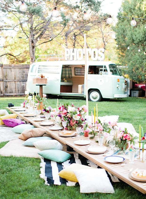 Bright Boho Party from Inspired By This