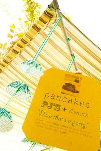 Pancakes & Pajamas Party in Eco-friendly style