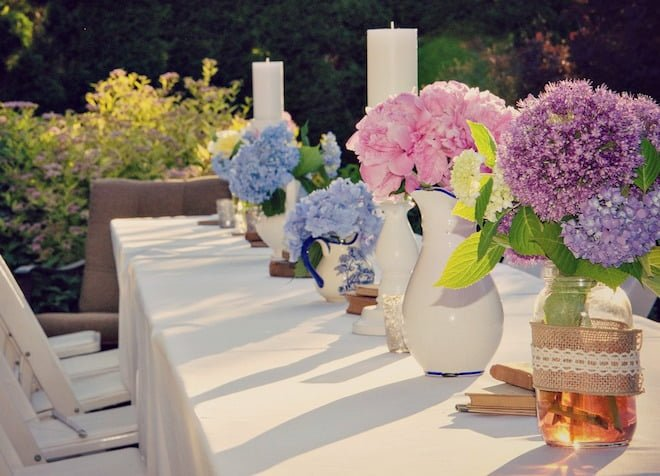 how why to host an eco friendly bridal shower