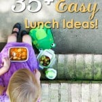 35+ Easy Lunch Ideas!