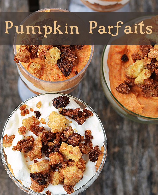 Not just for jack-o-lanterns! Pumpkins are an often overlooked squash, but they are surprisingly tasty and easy to prepare. These pumpkin parfaits are a perfect way to enjoy it, but first you'll need some fresh (preferably!) pumpkin purée to get started!