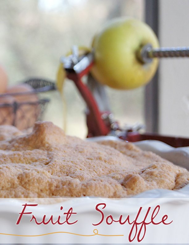 Fruit Souffle