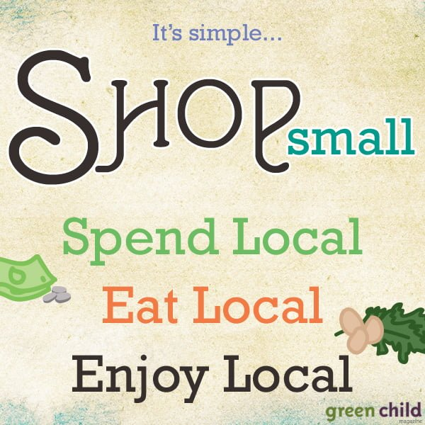 What Does It Really Mean to Shop Locally? When you shop at independent or local-to-you businesses, more money is kept within your community because local businesses often use or buy from local service providers, farms, and companies. Buying locally helps grow other businesses as well as your region's tax base.