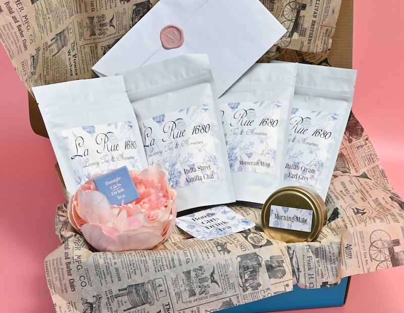 Bridgerton Tea set eco friendly Valentines gift