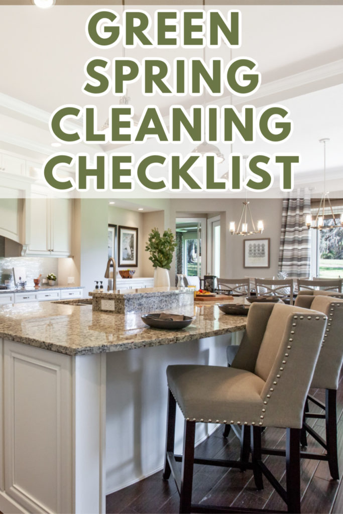 With this green spring cleaning checklist, you'll be ready to tackle the dirt, dust, and clutter safely.