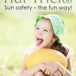 Sun Safety: How to help your little one keep a hat on
