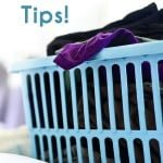 It's Laundry Day!  Stain Removal Tips