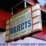 Vintage and Thrift Store Shopping for Gifts