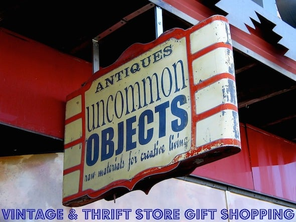Vintage & Thrift Store Shopping for Gifts