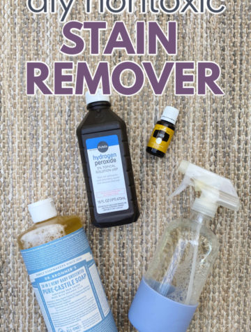 DIY natural stain remover ingredients
