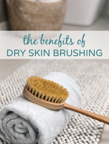 The benefits of dry skin brushing