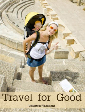 Take a volunteer vacation and get a chance to soak up the local flavors and culture, while making it a meaningful trip!