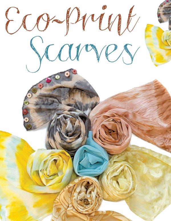 Eco Print Scarves DIY