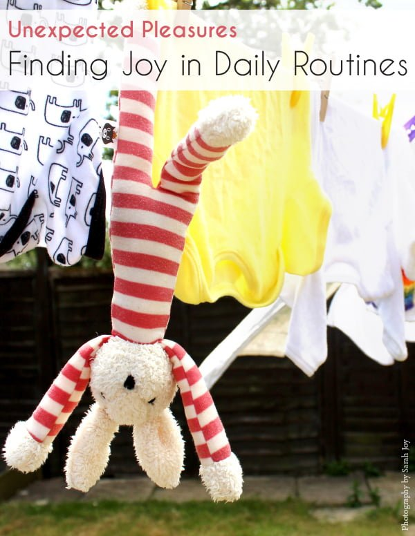 Finding joy in daily routines