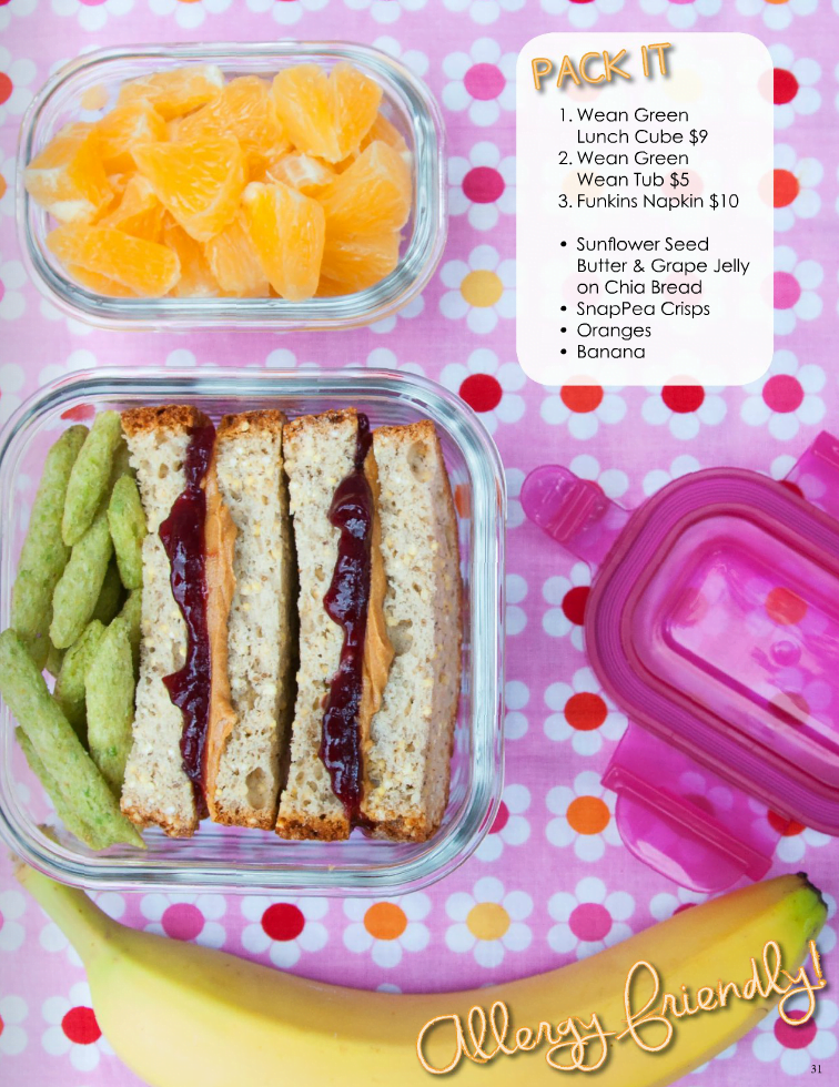 Allergy friendly, waste-free lunch ideas