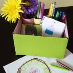 Upcycled Craft: Create a Colorful DIY Desk Organizer