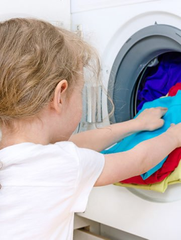 List of age-appropriate chores for kids