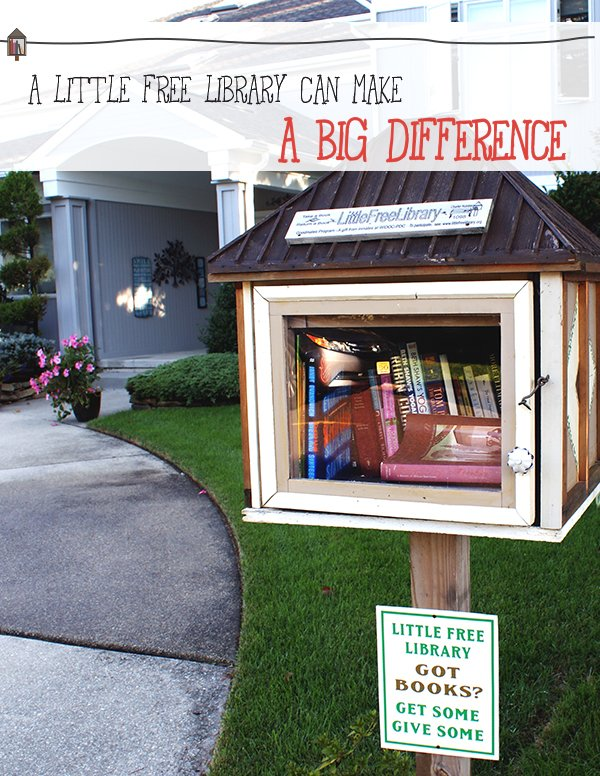 The Little Free Library movement encourages reading, sharing, and community.