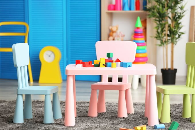 Decluttering is one way of reducing, but even then, you may find yourself with just too many toys. Implementing a toy rotation system is the next step in keeping the toys available to your child to a manageable level.