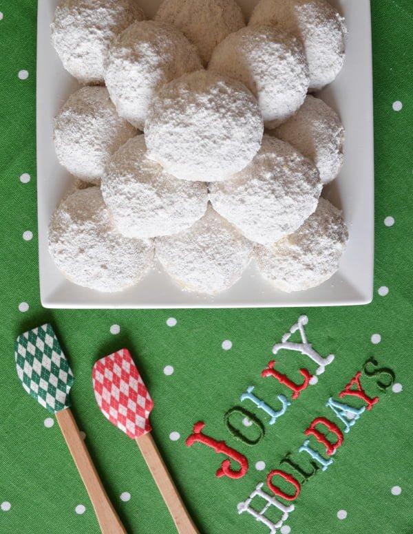 Liza Huber & Susan Lucci's Holiday Snowball Cookies