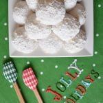 Liza Huber & Susan Lucci's Holiday Snowball Cookies