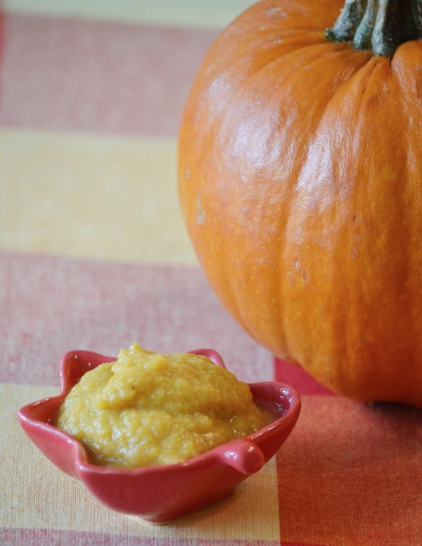 Pumpkin Pie Puree - This delicious puree is easy to make and loaded with nutrients!