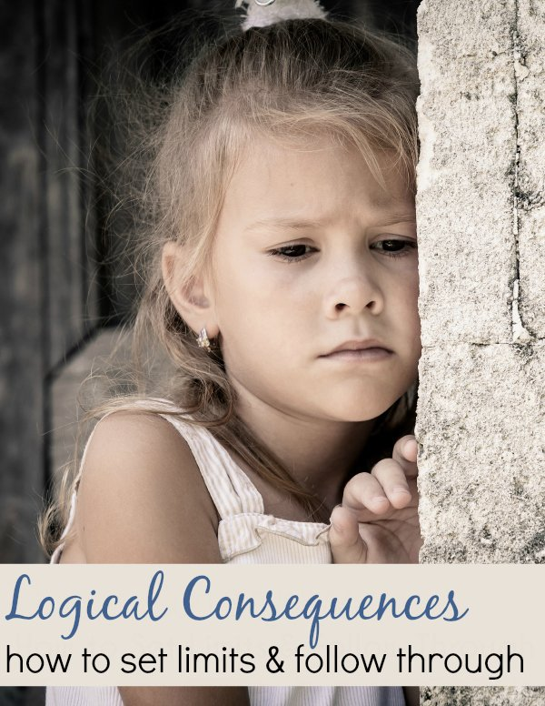 As any parent who wants to raise a well-disciplined child knows, setting limits and enforcing logical consequences is important. However, sometimes it's easy to set limits in the moment and have difficulty following through later. You may often find yourself giving a strong consequence to get a child to behave, and then forget about it later or realize it's not enforceable.