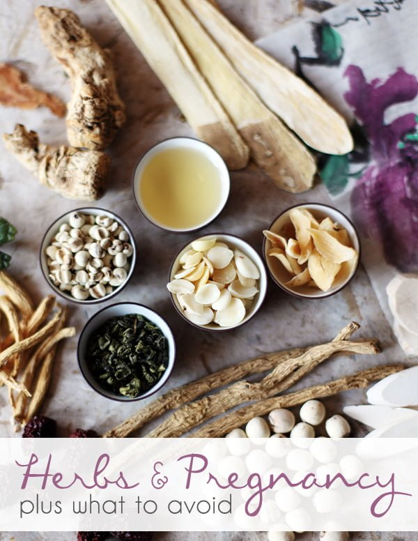 Herbs you can safely use during pregnancy and what to avoid