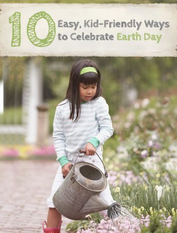 Celebrating Earth Day lends itself to a posture of gratitude. If you do only one thing on Earth Day, go outside!