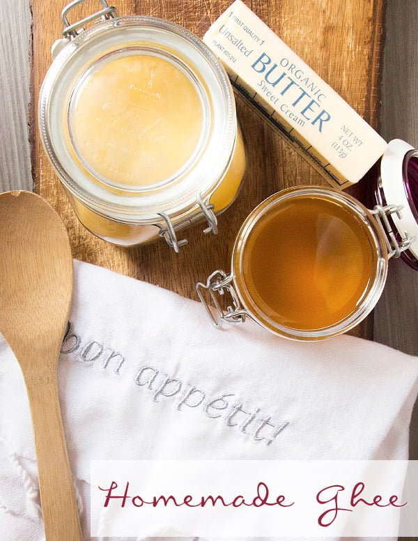 Clarified Butter: How to Make Your Own Ghee It's surprisingly easy, and the flavor is amazing! (not to mention the savings!)