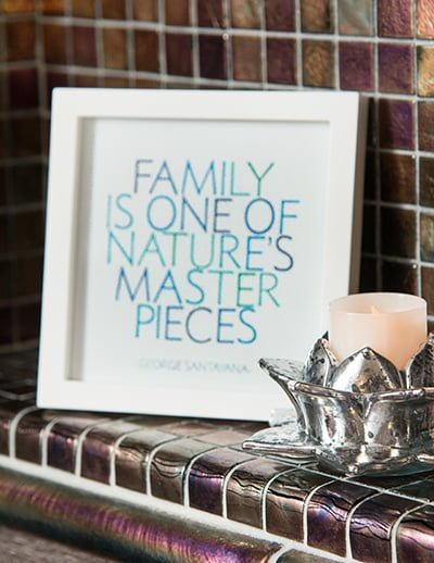 Family is one of nature's masterpieces