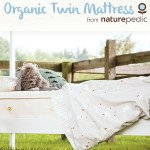 Enter to Win an Organic Twin Mattress from Naturepedic