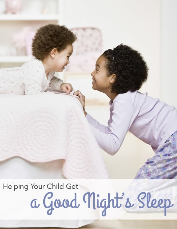 help your child get a good night's sleep