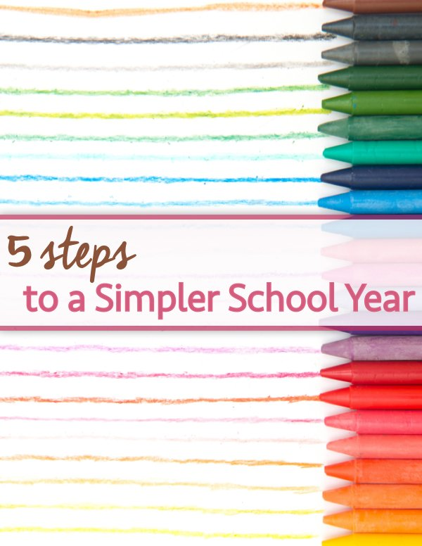 Great tips for streamlining your child's school year!