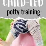 child led potty training