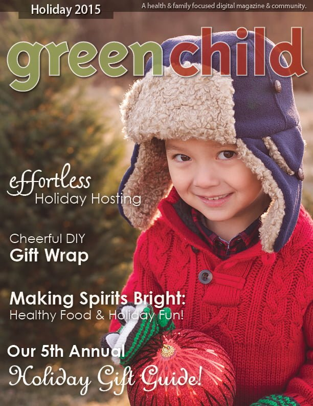 Enjoy the Holiday 2015 Issue of Green Child here for free!