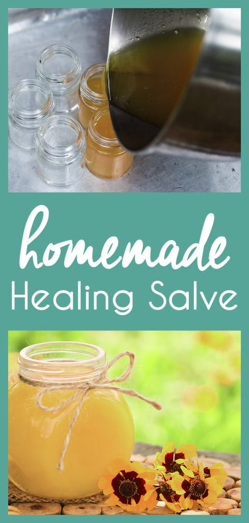 Soothe a variety of burns, bumps, and rashes with this versatile DIY homemade healing salve.