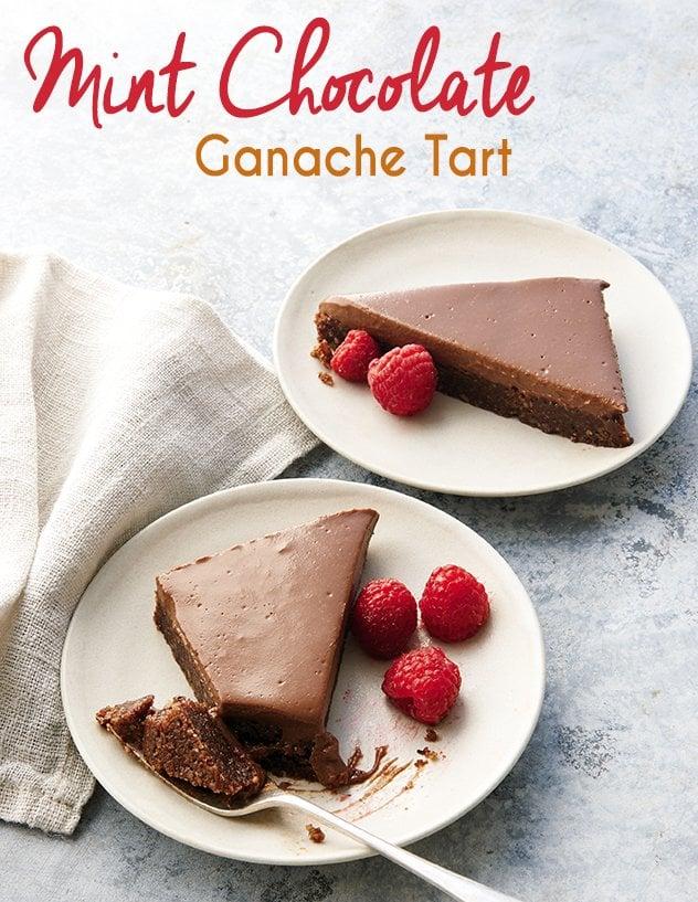 Mint Chocolate Ganache Tart