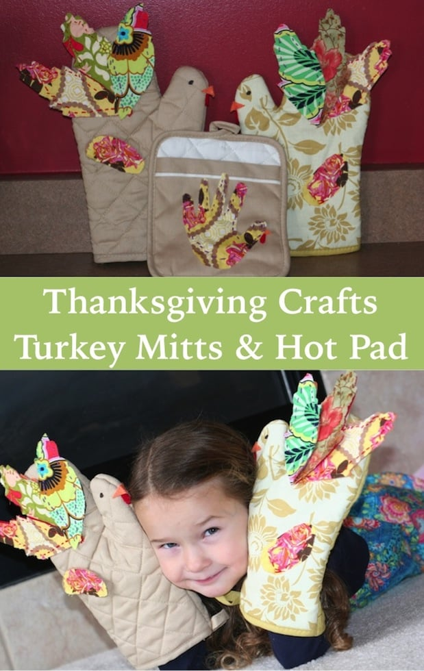 Thanksgiving Craft: Turkey Mitts