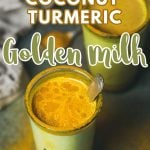 golden turmeric milk recipe