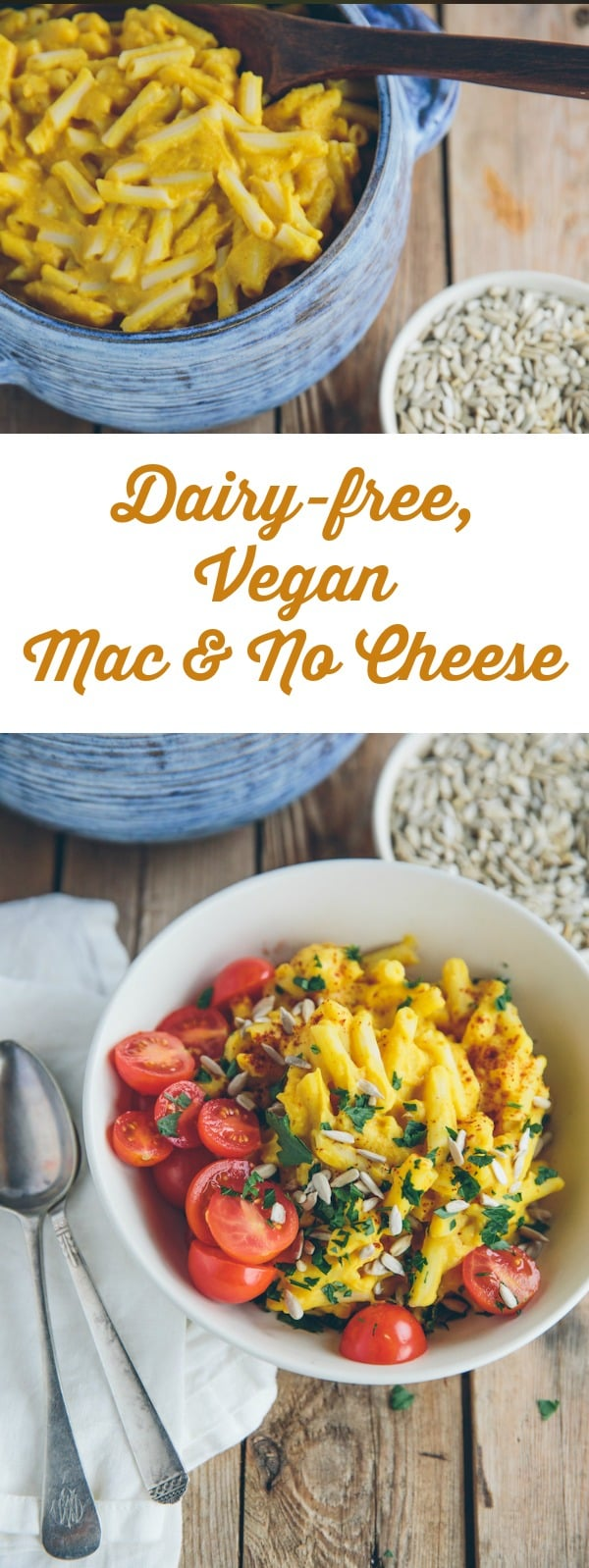 Dairy allergies become a non-issue when you opt to make this dairy-free, vegan version of macaroni and cheese.