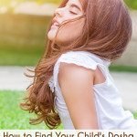 Young girl finding your child's dosha