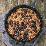 Blueberry Pear Oatmeal Bake