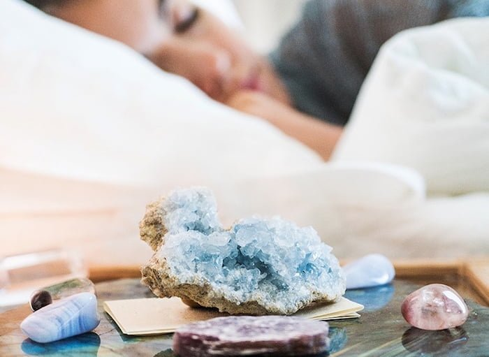 How to use crystals to enhance bedroom energy